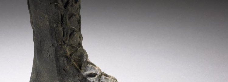 Rzymskie naczynie na perfumy w kształcie buta