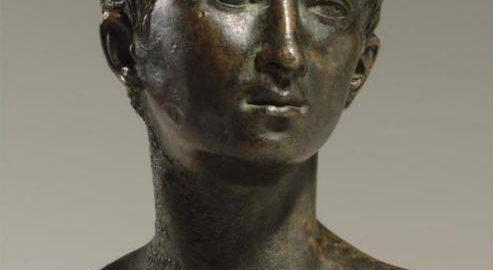 Popiersie Ptolemeusza z Mauretanii - wnuka Kleopatry VII