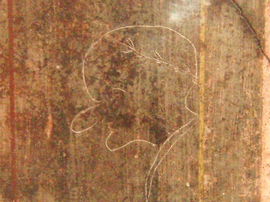 Caricature from Pompeii