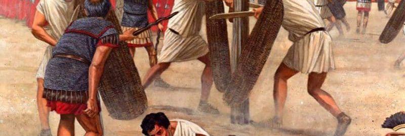 Ćwiczenia legionistów rzymskich