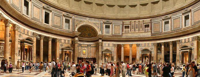 Opłaty za zwiedzanie Panteonu?