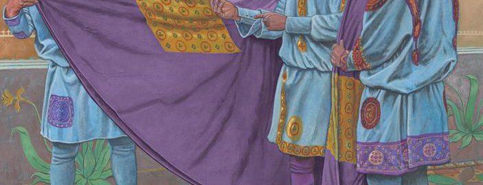 Grafika ukazująca Justyniana I