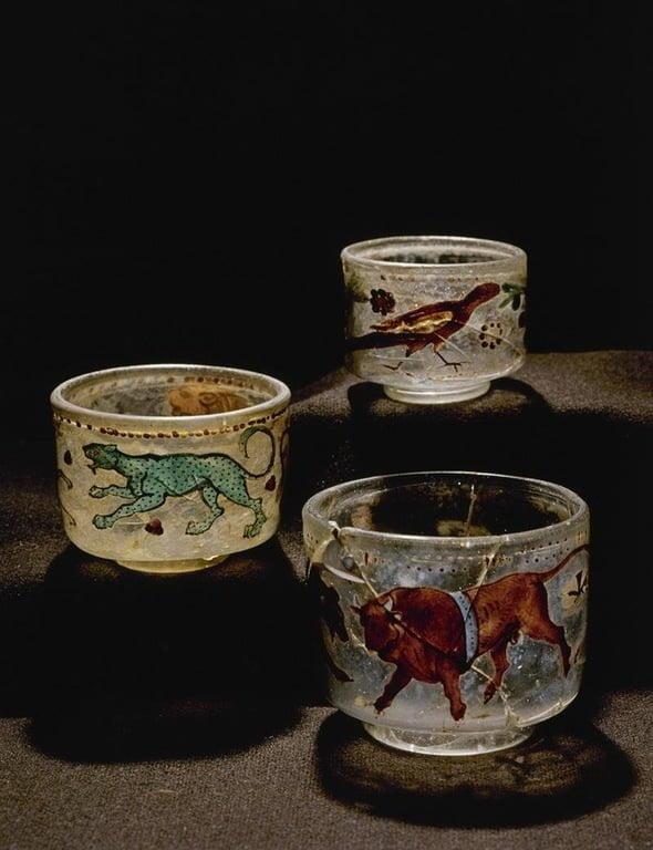 Roman glassware in Denmark