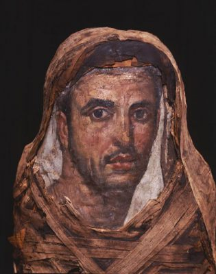 Portrait of a Roman from Egypt