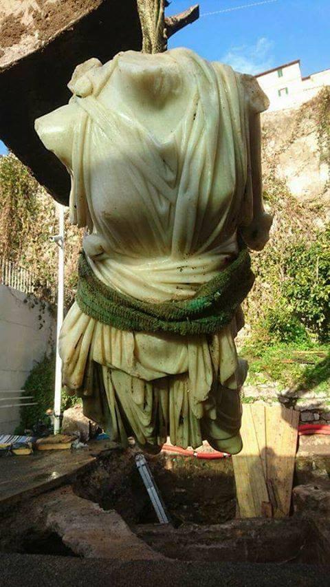 Odkryto posąg rzymskiej bogini Diany w centrum Italii