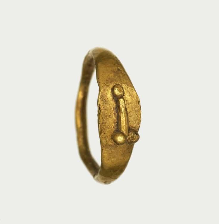 Rzymski pierścień z fallusem