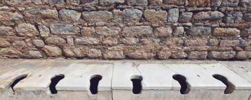 Sewer pits - a source of knowledge about the Romans