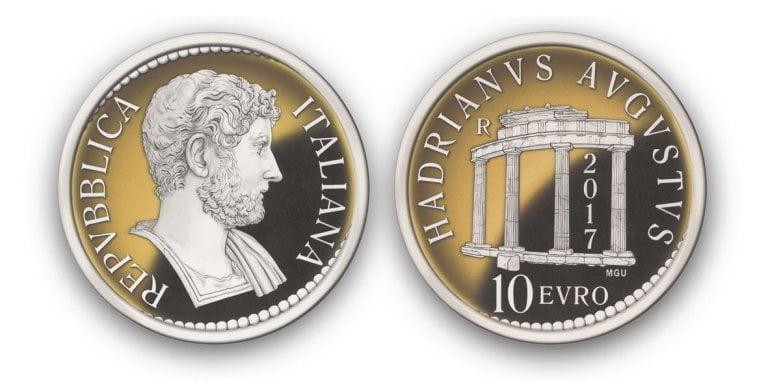 Panowanie Hadriana zostanie uczczone złotą monetą