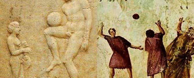 Zabawy z piłką antycznych Rzymian