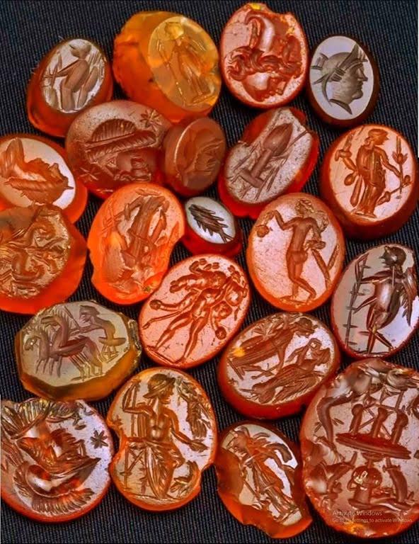 Roman cameo collection