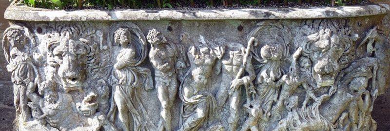 Rzymski sarkofag przez ponad 100 lat pełnił rolę doniczki