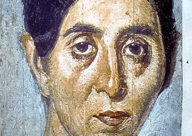 Portret nagrobny kobiety z Egiptu