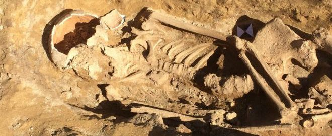 Odkryto rzymskie szkielety w Pontefract