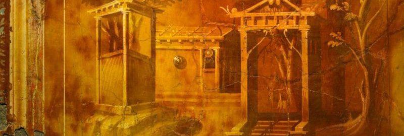 Fresk rzymski z Herkulanum