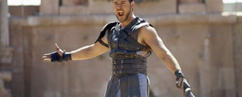 Russel Crowe as General Maximus in the movie Gladiator