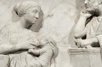 Karmienie piersią w czasach rzymskich