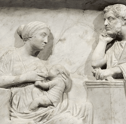 Breastfeeding in Roman times