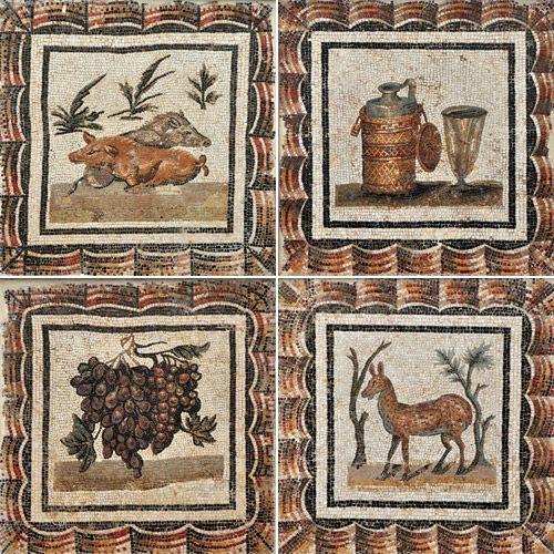 Mozaika z muzeum Bardo w Tunezji.
