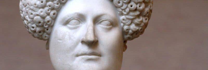 Rzymskie popiersie kobiety