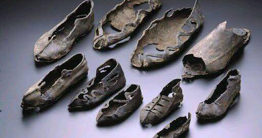 Liczące 1800 lat rzymskie buty