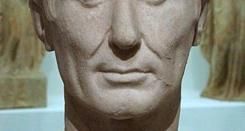 The most credible image of Julius Caesar