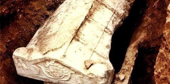 Piękny rzymski sarkofag