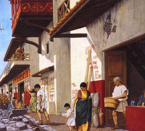Ulice antycznego Rzymu