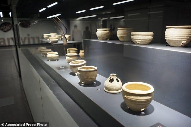 Na rzymskiej stacji metra można podziwiać rzymskie artefakty