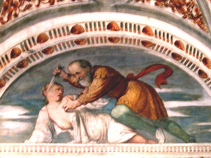 Romanino, Death of Virginia