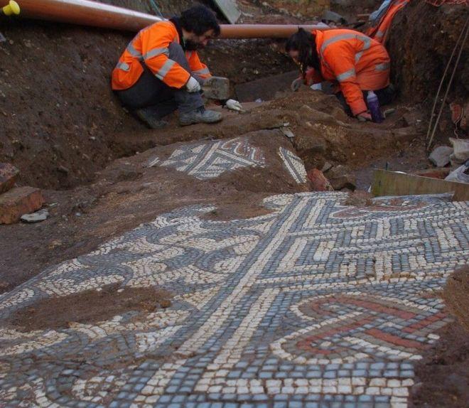 Spektakularna rzymska mozaika do obejrzenia w Leicester