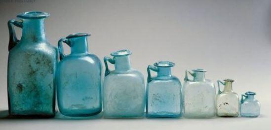 Rzymskie butelki do odmierzania objętości