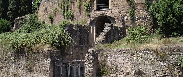 Renovation works on the Mausoleum of Augustus are underway