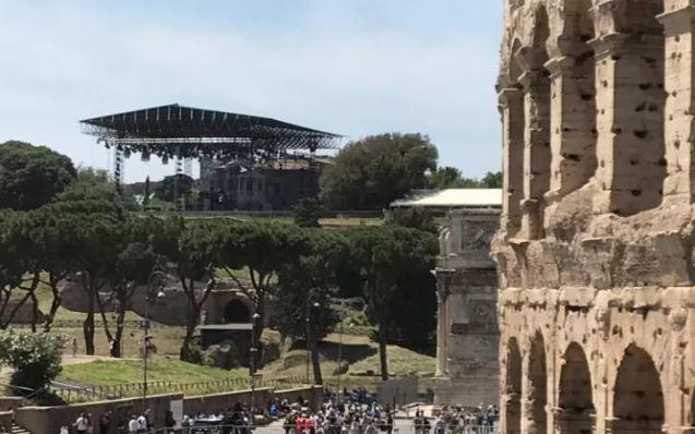 Na Palatynie odbędzie się musical o Neronie