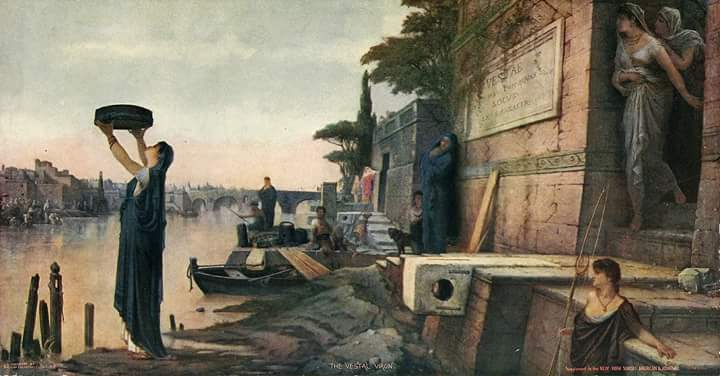Święty dzień rzeki Tyber