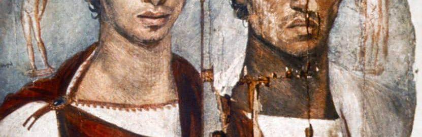 Portret fajumski dwóch braci