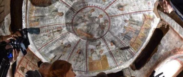 Naukowcy odkryli liczące 1600 lat freski Chrześcijan