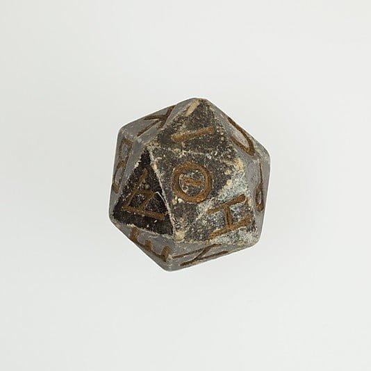 Egyptian dice