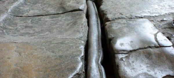 Rzymskie ołowiane rury w Bath