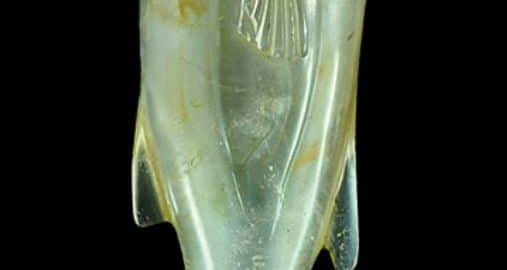 Roman crystal in the shape of a fish