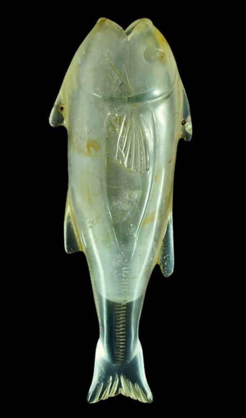 Rzymski kryształ w kształcie ryby