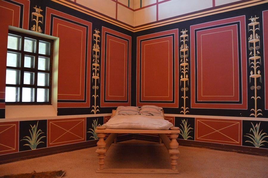Zrekonstruowana piękna rzymska willa w Borg