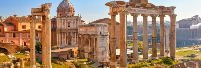 Rome in the summer