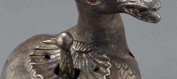 Lampa rzymska w kształcie gołębia