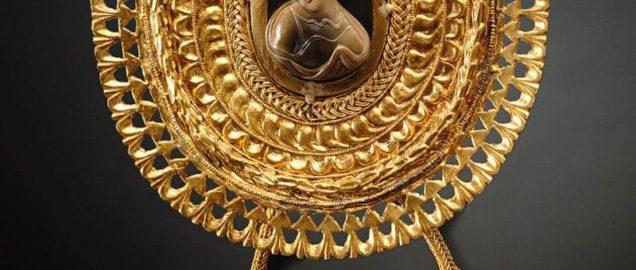 Large Roman fibula from cameo