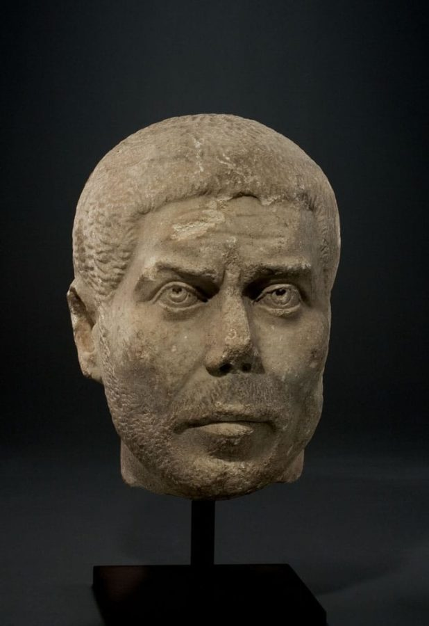 Rzymski portret mężczyzny z połowy III wieku n.e.