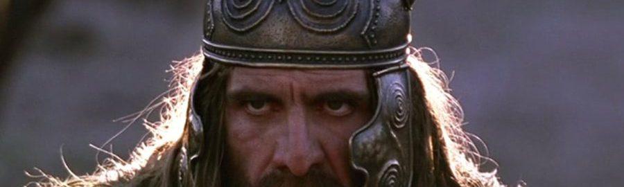 """Giovanni Calcagno as Vercingetorix in the series """"Rome"""""""