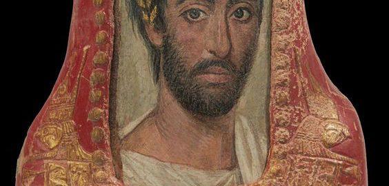 Portret młodego Rzymianina z Egiptu