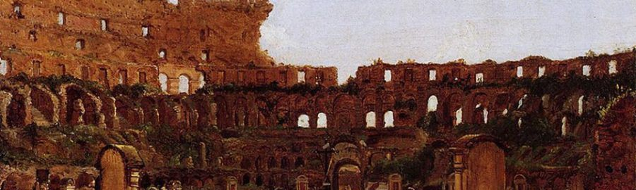 Ruiny Koloseum od środka