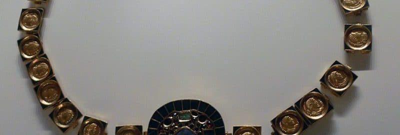 Rzymski pas z monet