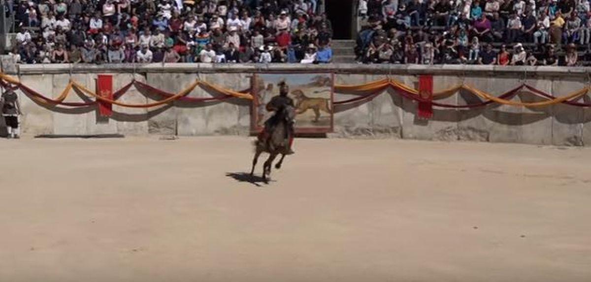 Spektakularna rekonstrukcja rzymskich igrzysk w Nimes